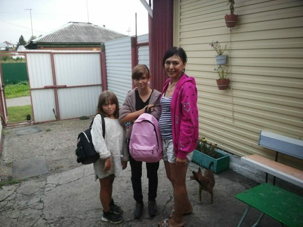 Благотворительность Собери ребенка в школу
