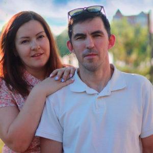 Евгений и Наталья Бабалюк