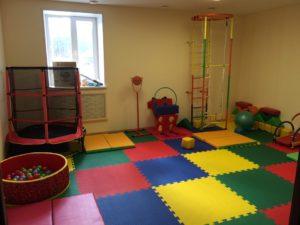 """В центре """"Матери и ребенка"""" организована особая спортивно - оздоровительная среда!"""